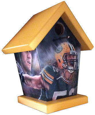 Clay Matthews Green Bay Packers Birdhouse