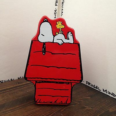 Peanuts Snoopy and Woodstock Collectible Tin - TIN ONLY