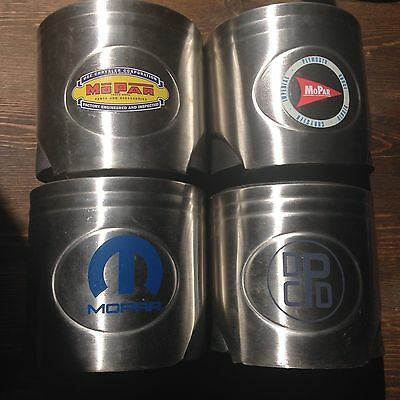 Mopar Piston Beer Pop Can Koozie, Neoprene Insulated Thermal, Man cave