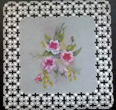 Handmade  parchment card topper (Any Occasion)