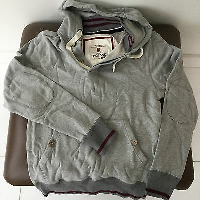 England Rugby 1871 Heritage Grey Hoodie, Fabulous Quality