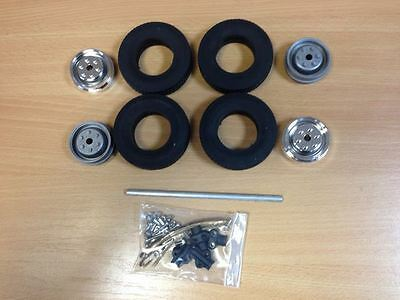 Wedico 1/16 Scale Rear Truck Axle Set.