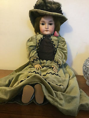 Large Antique Queen Louise Doll * Armand Marseille * Germany