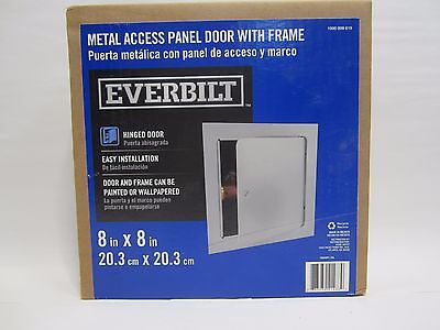 """Everbilt Metal Access Panel Door With Frame, Close to 9-5/8"""" square"""