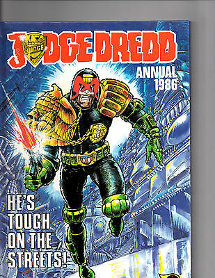 Judge  Dredd Annual 1986 : Featuring The Judge For He's Tough On The Streets!