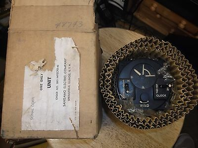 WWII Sangamo Signal Corps Contactor Control Unit Airplane-Army Air Force NIB