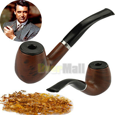 New Durable Wooden Enchase Smoking Pipe Tobacco Cigarettes Cigar Pipes Gift USA
