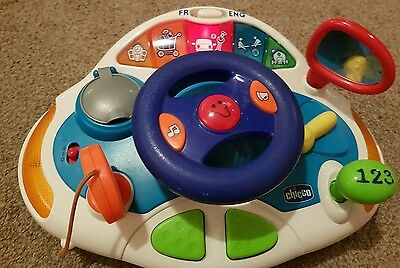 Chicco steering wheel with lights and sounds