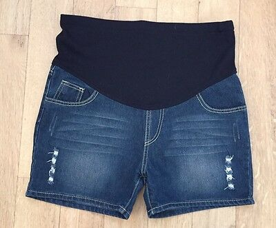 Over Bump Maternity Shorts Size 8-10