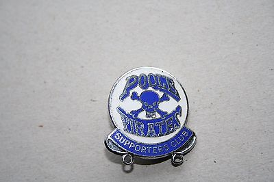 Poole Pirates Supporters Club Silver Speedway Badge