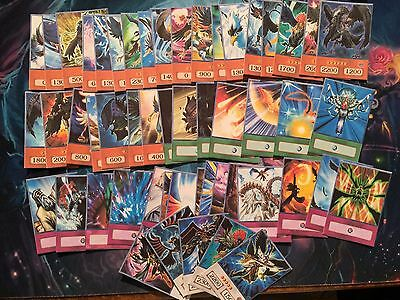 YUGIOH Orica anime Crow Hogan 5 ds blackwing elphin dragon black winged