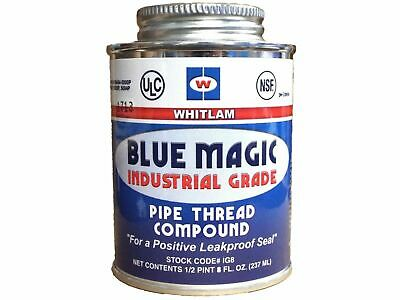 J.C. Whitlam Blue Magic Industrial Grade Pipe Thread Sealant - 1/2 Pint - 8 oz