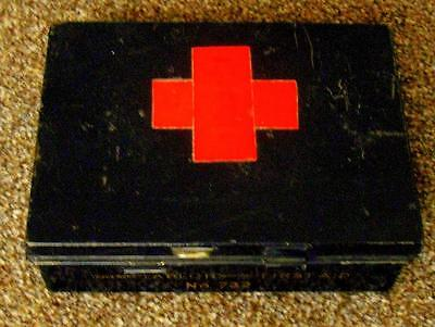 Vintage Burroughs Wellcome & Co Tabloid Brand First Aid Tin No 732