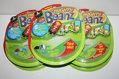 5 New and Sealed Packs of Series 2 Mighty Beanz - 30 Beanz in Total - Set 3