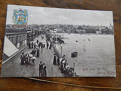 Ryde From The Pier Isle Of Wight - Postcard 1908