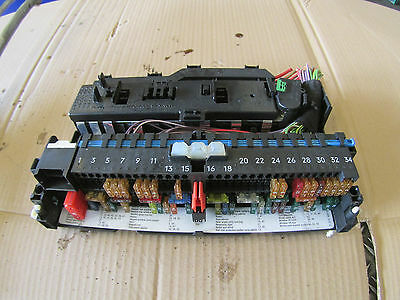 bmw 3 series e46 318i battery fuse box • £15 00 picclick uk 2003 bmw 3 series 318i 320i petrol e46 under dash fuse box