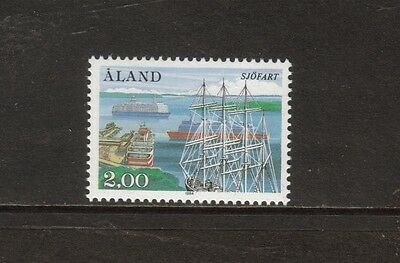 Aland Islands - 1984 U/mint 50Th Anniversary Of Society Of Shipowners Issue.