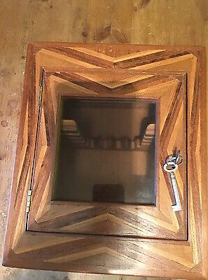 Vintage Smoking  Pipe Display Case With 13 Pipes, Tools, Meerchaum, P&k, Parker