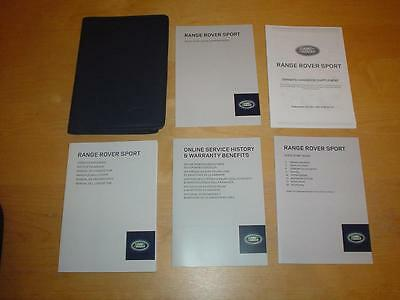 RANGE ROVER SPORT SDV6 HSE SVR DYNAMIC L494 Handbook Owners Manual Service Book