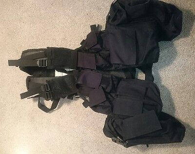 South African Vest Carrier Black airsoft / paintball