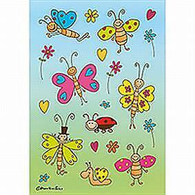 Decor-Sticker 3303 Lustige Schmetterlinge