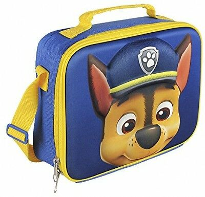 Paw Patrol 2100001610 3D Chase Insulated Cooler Lunch Bag