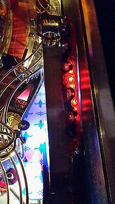 Theatre of Magic TOM Mod beleuchtete Rampe rot red Led Flipper Pinball V1