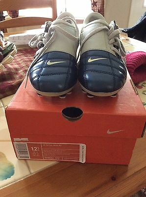 Nike Jr Total 90 lll Fg Kids Soccer Shoes Sz 121/2 C