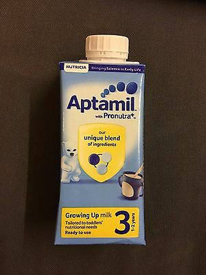 Aptamil with Pronutra 3 1-2 Years Growing Up Milk Ready to Feed 200ml RRP 80p
