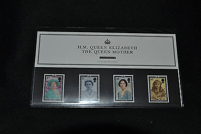 GB 2002 Her Majesty Queem Mother Presentation pack No MO8