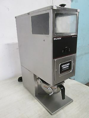 """""""bunn G-9T"""" Heavy Duty Commercial (Nsf) Counter-Top Precision Coffee Grinder"""
