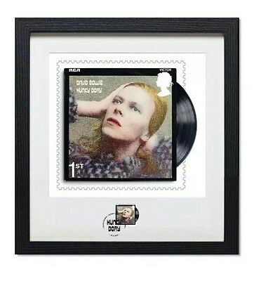 David Bowie Hunky Dory - Stamp Print Framed Ltd Edition 950 Royal Mail Sold Out