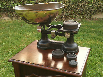 Vintage Shop scales -  fruit and veg scales and weights