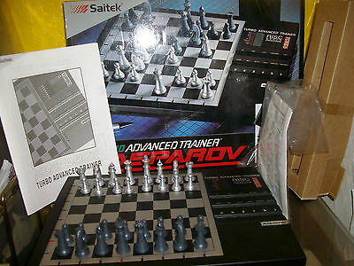 Kasparov Turbo Advanced Trainer Excellent In Box W Instructions - Unwanted Gift
