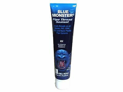 Blue Monster Pipe Thread Sealant - New 2 oz Squeeze tube - Industrial Grade