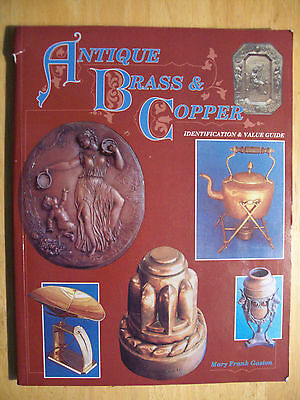 VINTAGE $$$ BRASS and COPPER PRICE GUIDE COLLECTORS BOOK