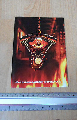 Harley Davidson Motorcycles 2007 Booklet