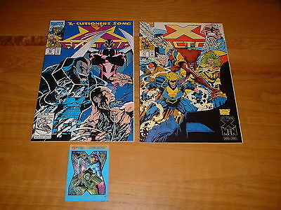 X-Factor 86 (Nm) & 87 (Nm-) X-Cutioners Song. 1993, David & Lee