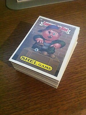 RARE Garbage Pail Kids 15th series 15 Complete Set of 80 Cards, ex condition