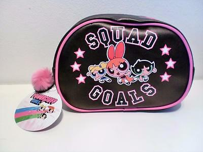 New Powerpuff Girls Squad Goals Large Cosmetic Toiletries Make Up Wash Bag