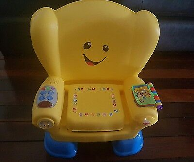 Fisher Price smart stages laugh and learn chair -Brisbane
