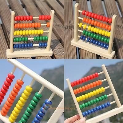 Small Abacus Educational Toy For Kids Children's Wooden Early Learning Toy Gift
