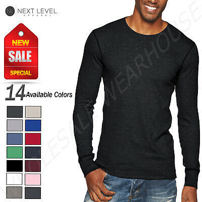 Next Level Unisex Thermal Premium Fit Long Sleeve XS-XL T-Shirt R-N8201