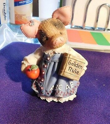 Figurine This Little Piggy TLP Enesco Learning to Never a Boar with You 1995