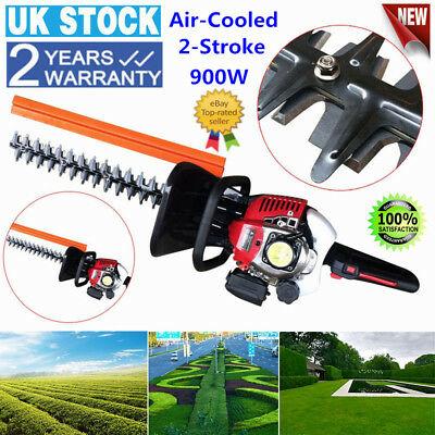 2-Stroke Garden Hedge Trimmer Petrol Strimmer Chainsaw Brushcutter Air-Cooled UK