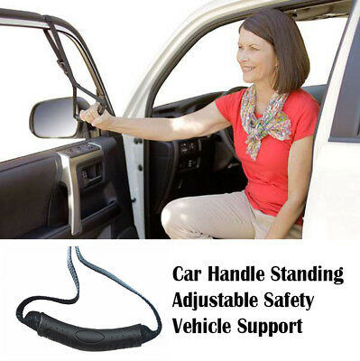 Car Handle Standing Aid & Adjustable Safety Vehicle Support For Elderly Aids
