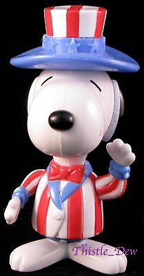 SNOOPY World Tour USA International HAPPY MEAL Toy 1999 McDonald's UNCLE SAM