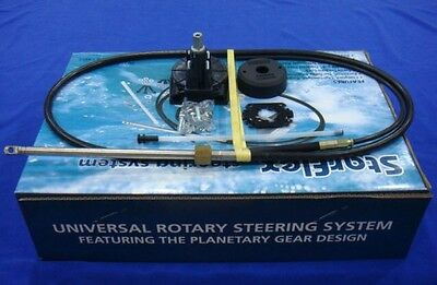Complete Outboard steering kit, Inboard,  16 foot replaces teleflex M58 C0315