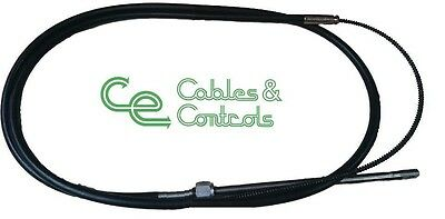 Outboard steering cable. 17 foot cable, Teleflex SSC62 or SSC92
