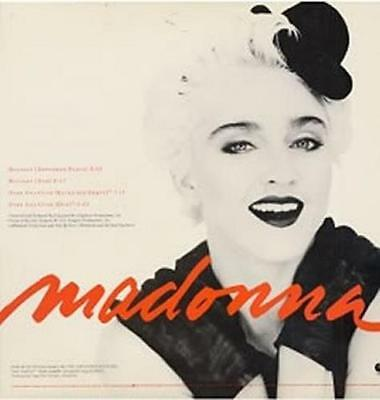 "Madonna 12"" vinyl single record (Maxi) Holiday USA promo PRO-A-2907 WARNER"